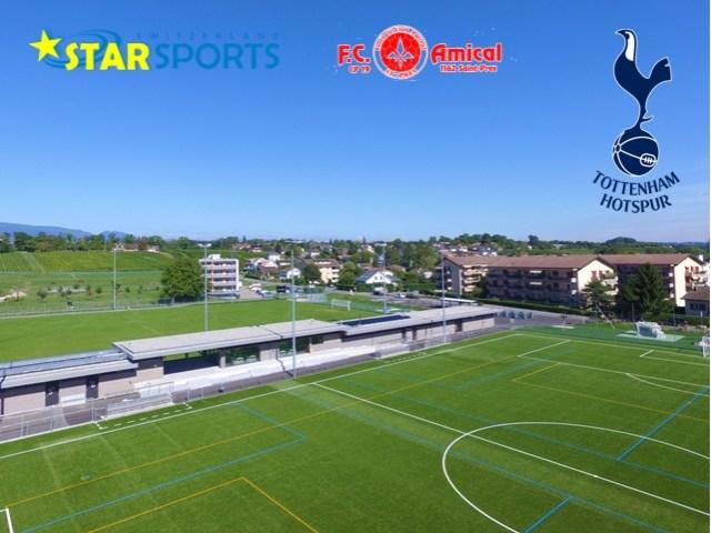 Tottenham Hotspur camp officiel à St-Prex