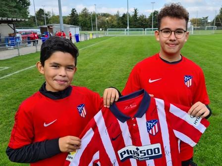 Atlético de Madrid - région Morges